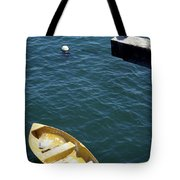 Bird Over Boat. Tote Bag