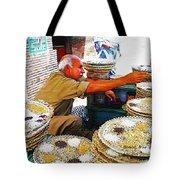Bird Seed Seller Tote Bag