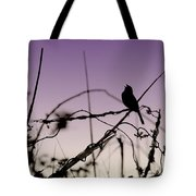 Bird Sings Tote Bag