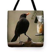 Bird Table Tote Bag