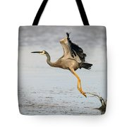Bird Taking Off Tote Bag