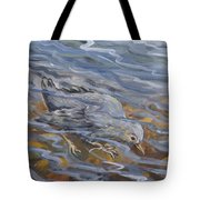 Bird Underwater Tote Bag