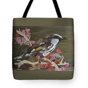 Bird White Eye Tote Bag