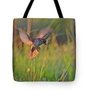 Bird With Prey Tote Bag