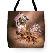 Birdhouse And Behive 1 Tote Bag