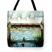 Birdhouse Haven Tote Bag
