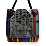 Birdhouses For Colorful Birds 4 Tote Bag