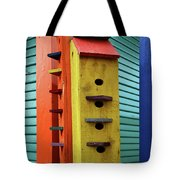 Birdhouses For Colorful Birds 6 Tote Bag