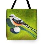 Birdie Time Tote Bag