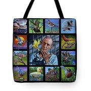 Birdman Of Alcatraz Tote Bag