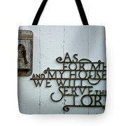 Birds And Bible Verse Tote Bag