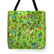 Birds And Bugs Tote Bag