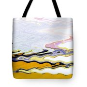 Birds And Beach Tote Bag