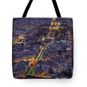 Bird's Eye On Paris 1 Tote Bag