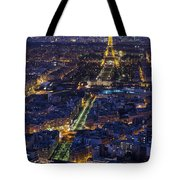 Bird's Eye On Paris 2 Tote Bag