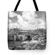 Bird's Eye View Hoboken Nj Tote Bag