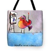 Birds Eye View Tote Bag