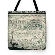 Birds-eye View Of California Tote Bag