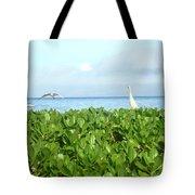 Bird's-eye View Of Hawaii Tote Bag