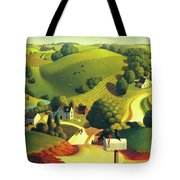 Birds Eye View Tote Bag by Robin Moline