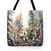 Birds Hill Park One Late Afternoon In January Tote Bag