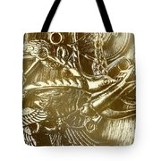 Birds Of Metal Tote Bag