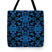 Birds Of Paradise Abstract Tote Bag