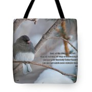 Birds Of The Air Tote Bag by David Arment