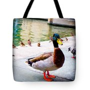 Birds Of The River Tote Bag