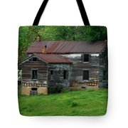 Birds On Chimneys Tote Bag