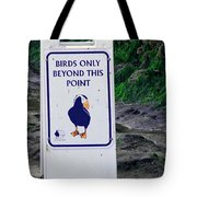 Birds Only Tote Bag