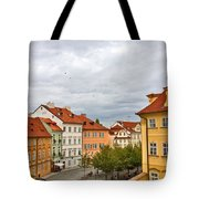 Birds Over Prague Tote Bag