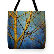 Bird's The Word Tote Bag