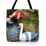 Birds Together Tote Bag