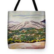 Birdseye Landscape #4 Tote Bag