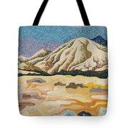 Birdseye Landscape #5 Tote Bag by Dale Beckman