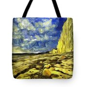 Birling Gap And Seven Sisters Art Tote Bag