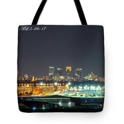 Birmingham Airport ,skyline Tote Bag