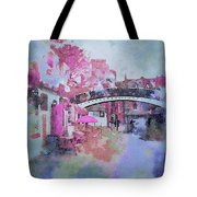Birmingham Canal Watercolor Tote Bag