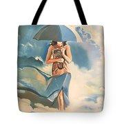 Birth Of Air And Water Tote Bag