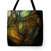 Birth Of Light Tote Bag