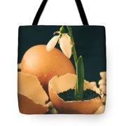 Birth Of Spring Tote Bag