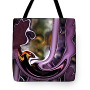 Birth Of The Phoenix Abstract Tote Bag