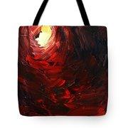 Birth Abstract Art Tote Bag