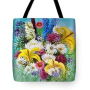 Birthday Bouquet Tote Bag