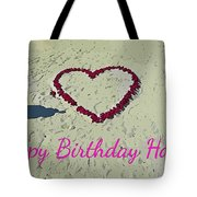 Birthday Card For Lover Tote Bag