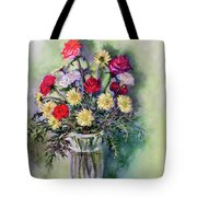 Birthday Flowers Tote Bag