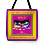 Birthday Girl's Birthday Wishes Tote Bag