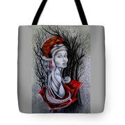 Birthing Repunzal Tote Bag