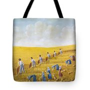 Bishop Hill Colony, 1875 Tote Bag by Granger